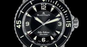 Blancpain Fifty Fathoms Automatique 5015 Titanium