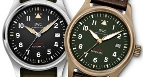 IWC Pilot's Automatic Spitfire iN Steel or Bronze
