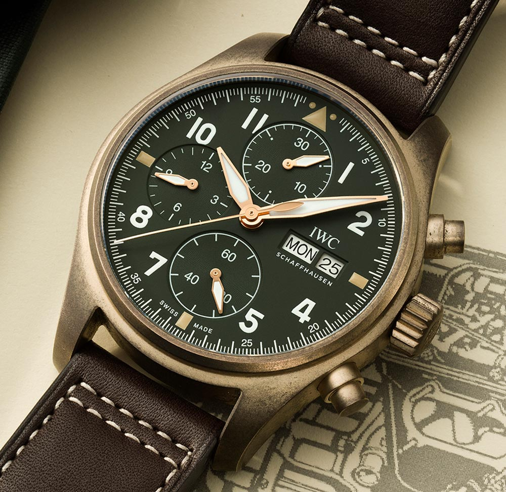 IWC Pilots Chronograph Spitfire-SIHH-2019-00