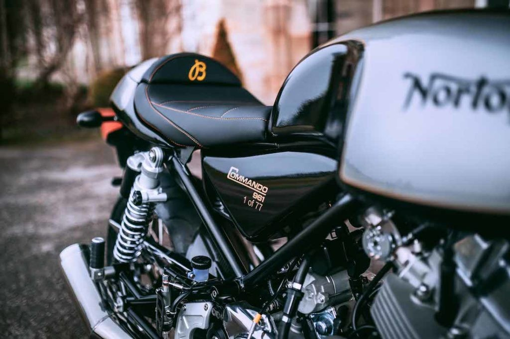 The Norton Commando 961 Café Racer MKII Breitling Limited Edition Motorcycle (PPR/Breitling)