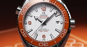 Omega Seamaster Planet Ocean 600M Orange Bezel