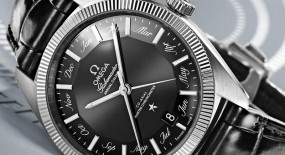 Omega Constellation Globemaster Annual Calendar iN Black