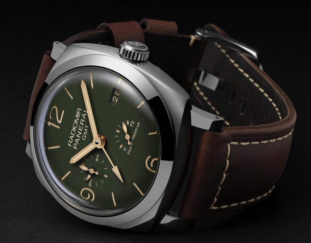 Panerai-Radiomir-1940-GMT-Power-Reserve-45mm-military-green-PAM00999-3
