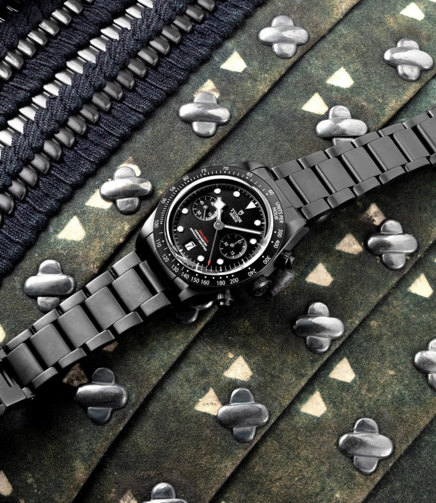 Tudor Black Bay Chrono Dark-02