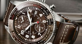 IWC Pilot's Timezoner Chronograph '80 Years Flight To New'